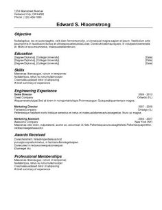 basic resume templates 30 free classic samples for traditional or non creative fields simple streamlined minimalistic professional and elegant