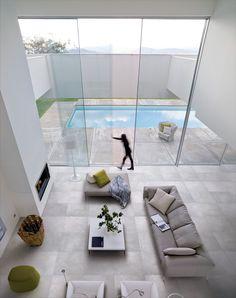 floor tiles, modern tiles, grey tiles, concrete look tiles: graffiti cenere