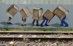 Australian Street Art by Fintan Magee