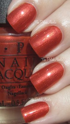 Deutsch You Want Me Baby?- OPI Fall 2012 Germany Collection