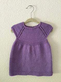 Simple & Sweet Little Baby Dress by Taiga Hilliard Designs - free