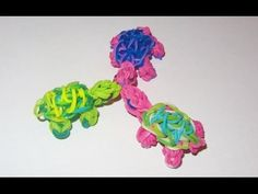 ▶ Rainbow Loom Charms: TURTLE (UPDATED) - How to make a Rainbow Loom Turtle Charm - YouTube
