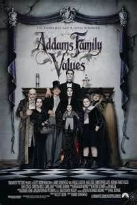 Adams Family: Values / Rodzina Adamsów 2 --> 94 min. / Country - USA / Released - 19.XI.1993 / Director - Barry Sonnenfeld