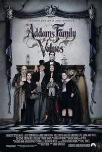 Adams Family: Values / Rodzina Adamsów 2 --> 94 min. / Country - USA / Released - 19.XI.1993 / Director - Barry Sonnenfeld
