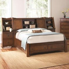 simple small bedroom designs with macys double beds furniture bed frame with headboard shelves storage - Bed Frame With Shelves