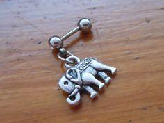 Tragus Piercing  Elephant Tragus Earring  Tragus by ChelseaJewels