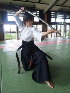 katana techniques in dojo