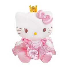Boneca de Pelúcia Hello Kitty Princess