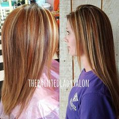 Light brown hair with highlights looks softer than whole-colored brown. Check a mix of color ideas with highlights and lowlights in our gallery of trends! Brown Hair With Highlights And Lowlights, Blonde Highlights, Copper Highlights, Medium Brown Hair, Light Brown Hair, Brown Hair Colors, Hair Pictures, Cut And Color, Cute Hairstyles