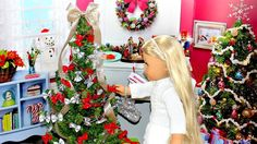 Doll Christmas Tree | DIY American Girl Doll Crafts