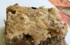 Gâteau Blondie végétal aux amandes Brownie, Sans Gluten, Krispie Treats, Muffin, Breakfast, Desserts, Food, Almonds, Cooking Recipes