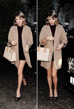 Taylor Swift visits a friends house in the exclusive St John's Wood area of London 06/27/15
