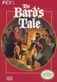 #Bard's Tale, The - Label or Box Art #nintendo games #gamer #snes #original #classic #pin #synergeticideas #gameon #play #award