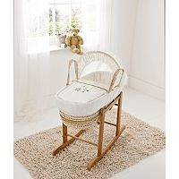Kinder Valley Cream Wish Upon A Star Palm Moses Basket | Home & Garden | George at ASDA