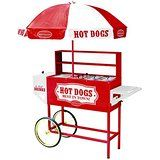 Nostalgia HDC701 48-Inch Tall Vintage Collection Hot Dog Vending Cart with Umbrella Price: USD 405.39   UnitedStates