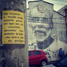 microrroteiros da cidade  criação: laura guimarães  atrás, intervenção Giganto, de raquel brust  belenzinho, são paulo, brasil