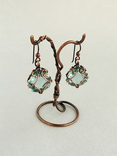 wired earring stand