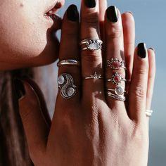 Sol Invictus Rhodonite Ring