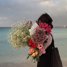 bridesmaids each have different floral bouquet, bride has one of each flower in hers + chrysanthemum My Flower, Beautiful Flowers, Beautiful Life, Plants Are Friends, No Rain, Flower Aesthetic, Ikebana, Pretty Pictures, Mother Nature