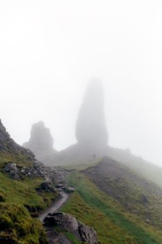 ~Hiking to the Old Man of Storr, Isle of Skye~ I so want to hike this
