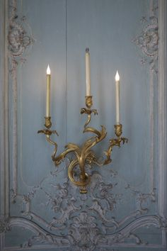 South Shore Decorating Blog: Beautiful French Blue Rooms and Furniture Antique Interior, French Interior, French Decor, Rococo Furniture, French Furniture, French Salon, French Blue, French Style, French Country
