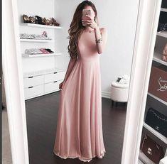 New Arrival Chiffon Long Prom Dress,Floor Length Evening Dress,Chiffon Prom…