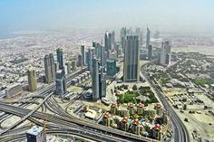 Top 10 City Skylines: Dubai, UAE. Photo by dianitartemis