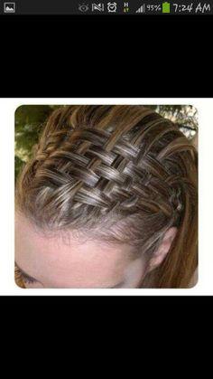 Basket braids