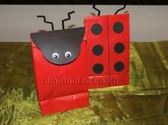 Ladybird Party Theme - Party Bags