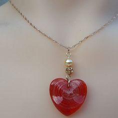 Heart love necklace #etsymntt