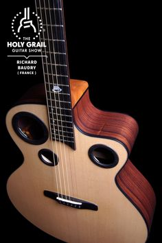 Exhibitor at The Holy Grail Guitar Show 2014: Richard Baudry, France http://www.richardbaudry.com http://www.facebook.com/Baudryguitars http://holygrailguitarshow.com