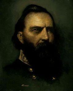 General Longstreet -- A Portrait by Ron Lesser. www.pathsofhistory.com/