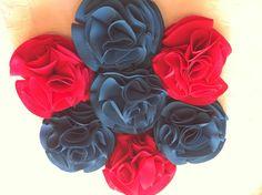 Ramo bouquet de flores de tela para novias en turquesa y frambuesa ramos por siempre jamás.personaliza tus ramos de novia en algodondeluna@gmail.com o +34606619349