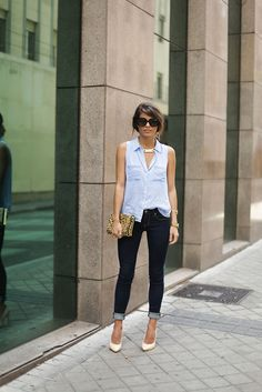 Jeans – A&F  Camisa/Shirt – A&F
