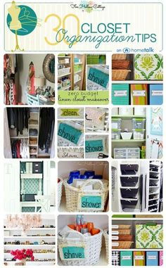 Closets Storage Organization, Kitchen Organization, Storage Ideas, Comment Faire Un Dressing, Ideas De Closets, Closet Ideas, Clever Closet, Bathroom Interior Design, Decoration