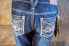 Adiktd Boot cut (grand champion) western cowgirl jeans sizes 6 8 10 12 14 16 #Adiktd #BootCut