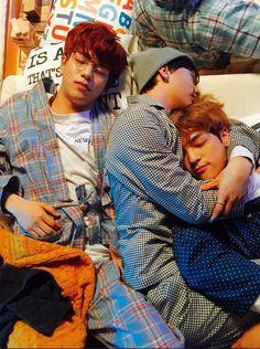 seungmin, hyunjin and woojin