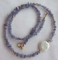 YMCJewelry - BOYS Jewelry - Little Girls Bracelets Gold Filled Tanzanite and Coin Freshawater Pearl Necklace, Gemstone Necklace Beaded Jewelry, Silver Jewelry, Vintage Jewelry, Jewelry Necklaces, Beaded Bracelets, Pearl Necklaces, Silver Earrings, Handmade Necklaces, Pearl Rings