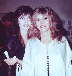 Stevie Nicks & Sandy Stewart