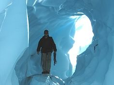 Glacier Hiking Alaska - Day hiking adventures!  That would be fun since we have never hiked in the snow