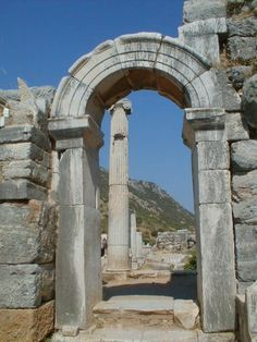 Ephesus, Roman, Arch, Outdoor Structures, Garden, Longbow, Garten, Arches, Gardens