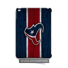 Houston Texans on Wood iPad Air Mini 2 3 4 Case Cover
