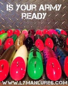 Is your army ready? Lure Making, Fishing Pictures, Army, Salmon, Outdoors, Gi Joe, Military, Atlantic Salmon, Outdoor Rooms