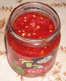 Makacska konyhája: Erős Pista házilag Ketchup, Salsa, Bbq, Mexican, Ethnic Recipes, Food, Canning, Natural Health, Health And Wellness