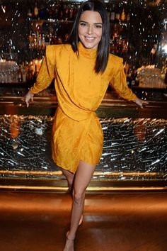 Kendall Jenner attends Chaos Sixtynine Issue 2 Launch Party at L'oscar London in London, UK, Hi Fashion, Couture Fashion, Vintage Fashion, Latest Fashion, Kardashian Family, Kardashian Jenner, Kendall Jenner Icons, Draping Techniques, Lab