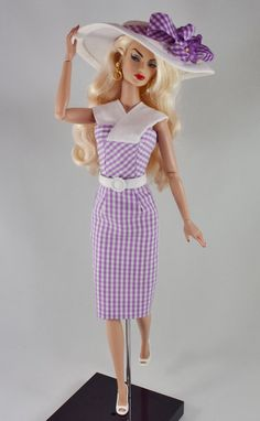 Silkstone Barbie  Summer Gingham by ShhDollWorks on Etsy