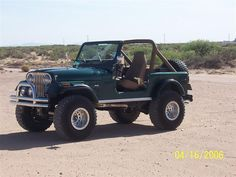 1980 Jeep CJ7....I will have a yellow one someday! <3 this!
