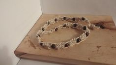 This item is unavailable Macrame Necklace, Brown Wood, Wooden Beads, Festival Fashion, My Etsy Shop, Handmade Jewelry, Bracelets, Check, Handmade Jewellery