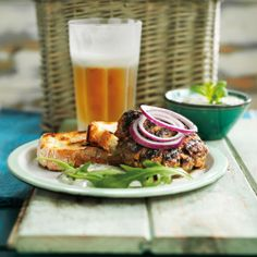 Indian seasoning works with the richness of lamb to make a seriously delicious burger
