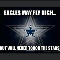 I am a Cowboys fan that lives 2 hours from Philly...LOVE THIS!!! ♡♡♡♡